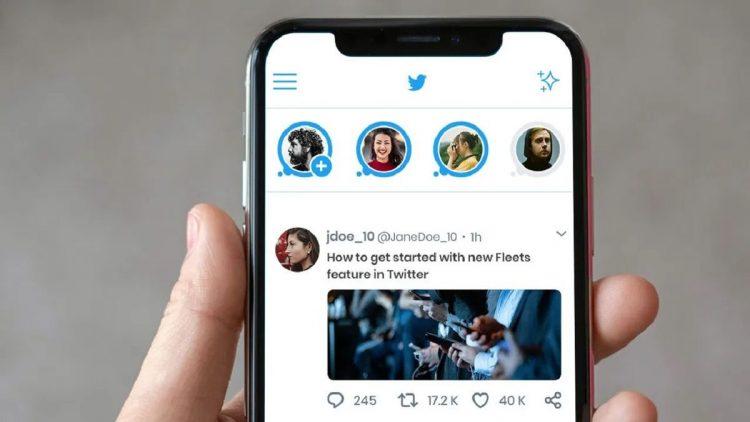 Twitter fleets kaldırılıyor