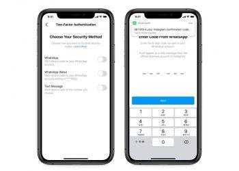 WhatsApp, Instagram için ikinci bir doğrulama faktörü olarak kullanılabilecek
