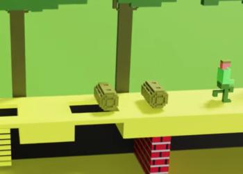 Atari 2600 oyunları 3D olsaydı nasıl görünürdü?