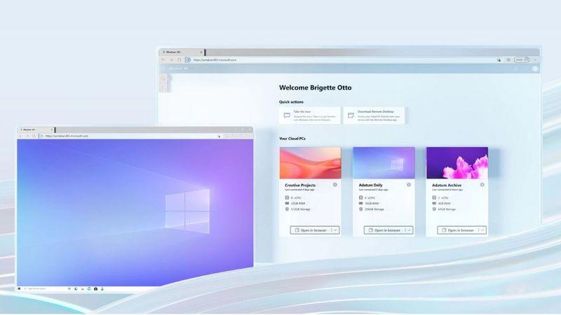 Microsoft'un bulut tabanlı işletim sistemi Windows 365 yayınladı