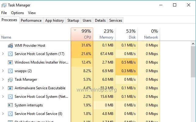 WMI sağlayıcı ana bilgisayarı (WmiPrvSE.exe) nedir?