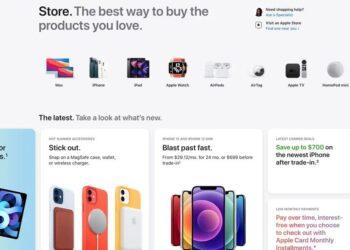 Apple online mağazası yeniden tasarlandı