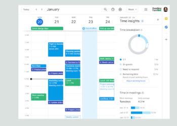 Google Takvim, zamanınızı nasıl harcadığınızı size bildirmek için Time Insights'ı kullanacak