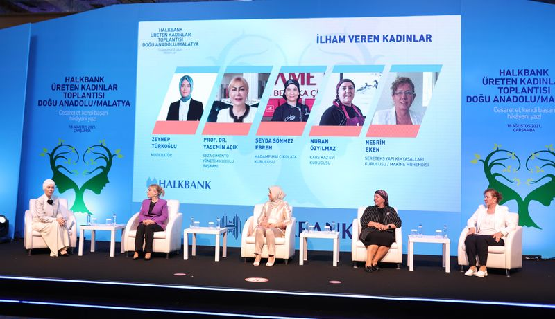 Halkbank'tan Kadın Girişimci Kredi Paketi ile kadın girişimciler üretime yöneliyor