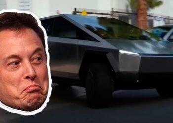 Tesla Cybertruck rötar yaptı