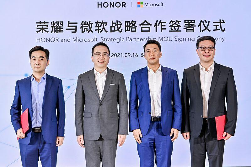 Microsoft ve Honor güç birleştirdi