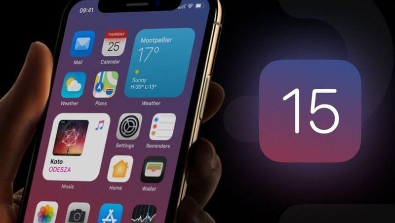 iOS 15 bugün kullanıcılara sunuluyor
