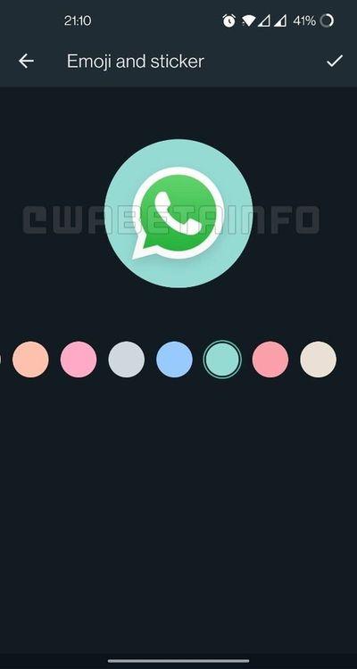WhatsApp, gruplar için bir simge düzenleyici hazırlıyor