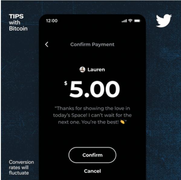 Twitter'da yeni dönem: Bitcoin ile nasıl bahşiş verilir?