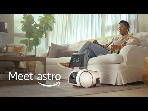 Amazon'un yeni tekerlekli robotu Astro tanıtıldı