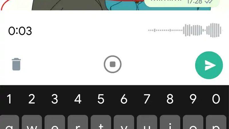 Android için WhatsApp yeni sesli not kayıt arayüzünü tanıttı