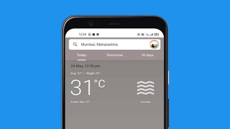 Android ana ekrana hava durumu ekleme