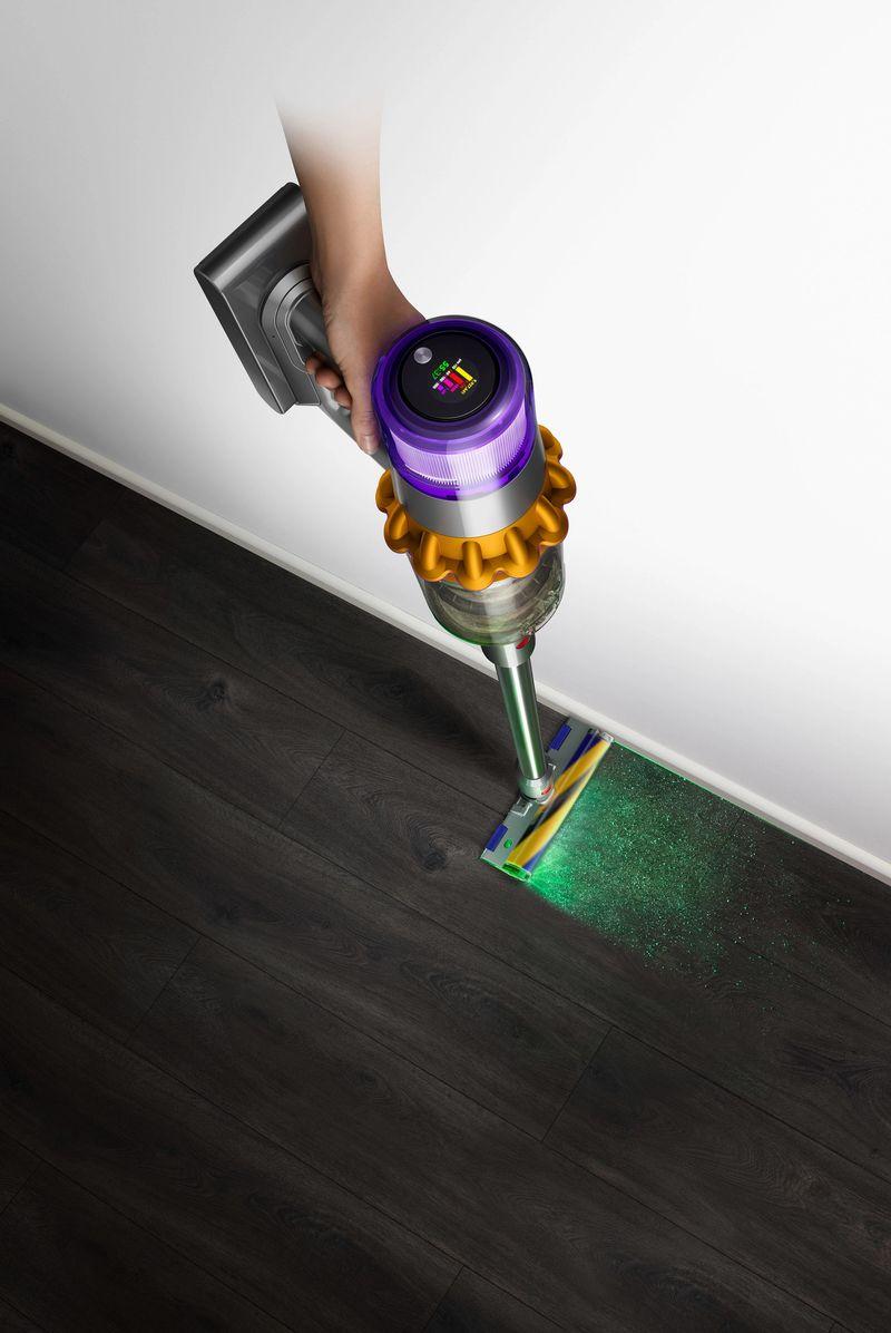 Dyson'ın ilk lazer teknolojisine sahip en yeni Kablosuz Süpürge Teknolojileri evlerde derinlemesine temizlik kavramını yeniden tanımlıyor