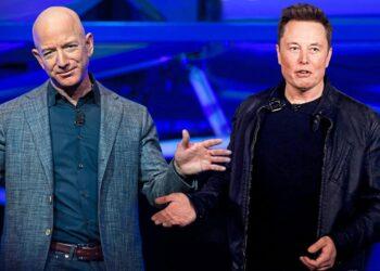 Elon Musk, Jeff Bezos'un Spacex davaları hakkında konuştu