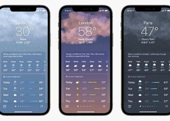 iOS 15 ile iPhone'da hava durumu bildirimleri alma