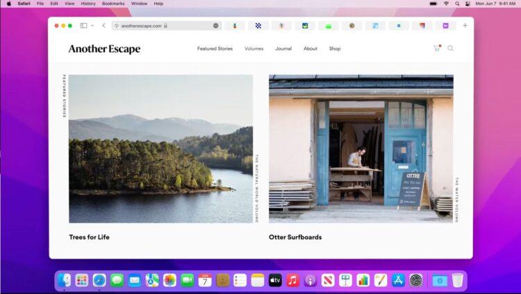 macOS: Safari'de sekme grubu açma