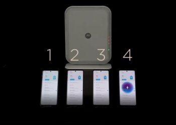 Motorola Space Charge: Aynı anda 4 telefonu kablosuz şarj edilebilecek
