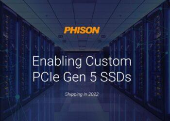 Phison PCIe 5 SSD'ler için E26 denetleyicisini 2022'de satışa sunacak