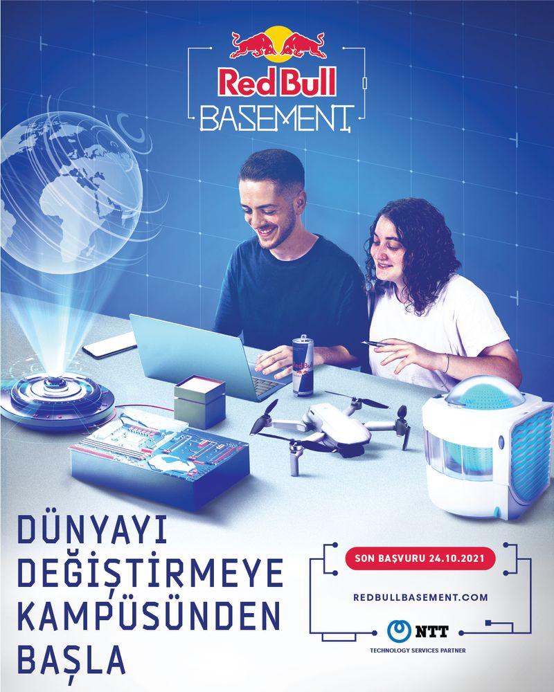Üniversiteli gençlerin fikirleri Red Bull Basement ile hayata geçiyor