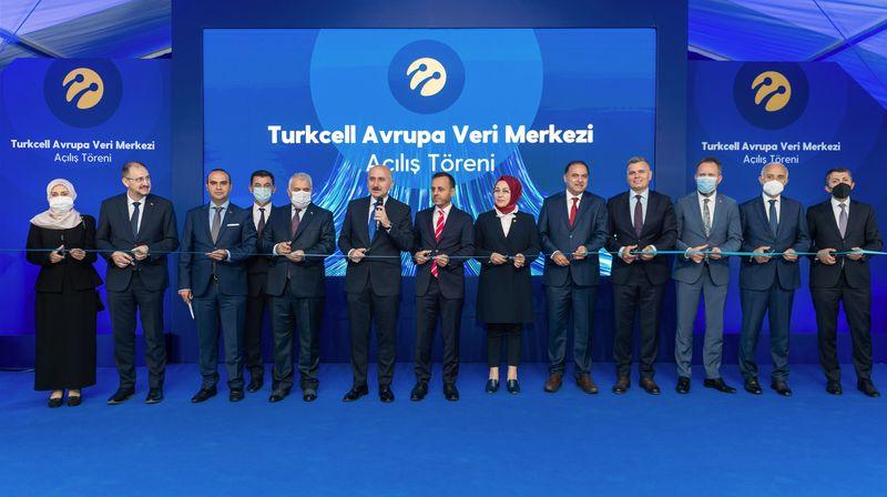 Turkcell, yerlilik oranı en yüksek veri merkezini açtı