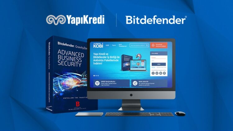 Yapı Kredi ve BitDefender'dan KOBİ'lere siber güvenlik dopingi