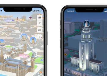Apple Haritalar 3D kataloğu genişliyor