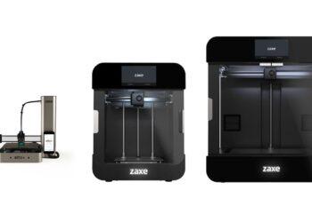 Zaxe 3D yazıcılarının global lansmanı Teknofest'te yapıldı