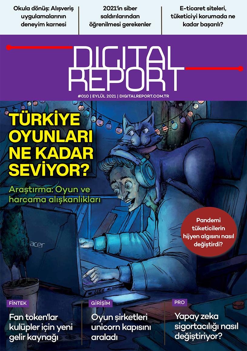 Digital Report 10. sayı (Eylül 2021)