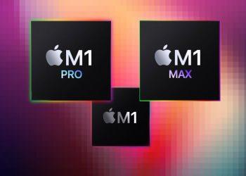 Karşılaştırma: Apple M1 Max, M1 Pro ve M1 işlemciler