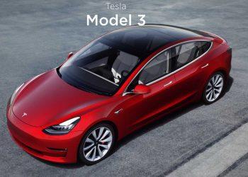 Avrupa'da ilk kez bir elektrikli araba en çok satılan oldu: Tesla Model 3