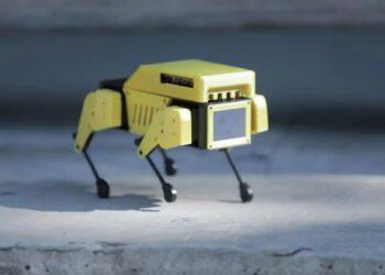 Boston Dynamics robotundan ilhamla: Mini Pupper