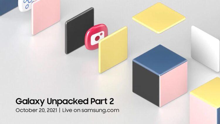 Samsung Galaxy Unpacked 2 Part 2: Etkinlik 20 Ekim'de çevrimiçi olarak yapılacak